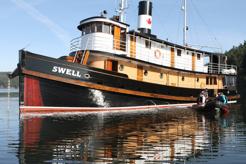 The Tugboat Swell after restoration