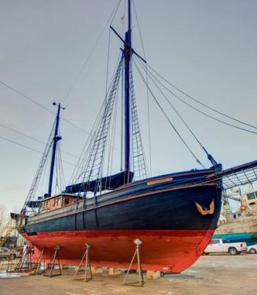 Trio of Historical Vessels Grace Commodore's Boats - Full