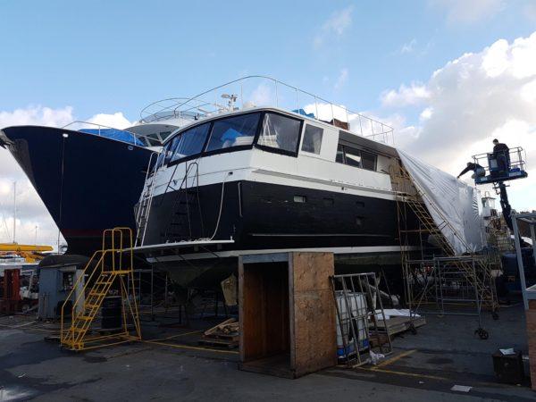Renegade - 1974 Broward Yacht 60' - Full Service Shipyard