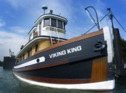 1921 Viking King tug boat