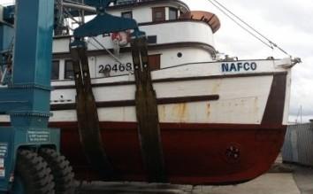 Nafco 1941 fish boat