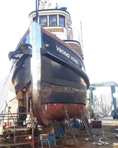 shipwright on the bow